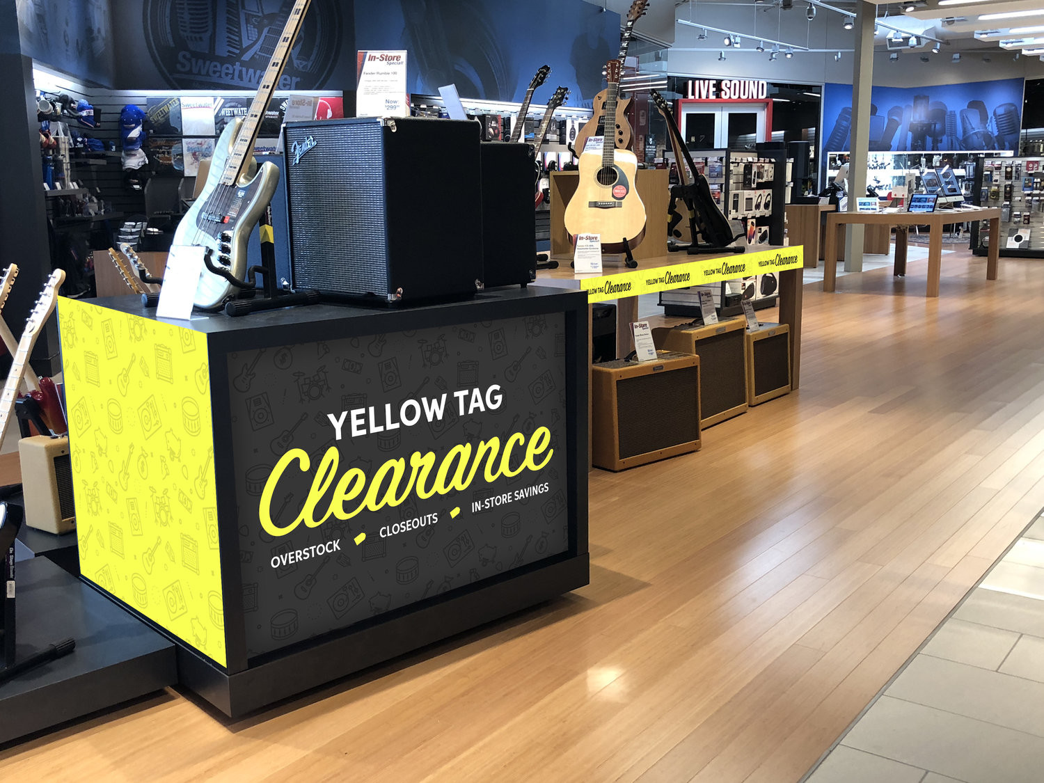 hardwood flooring store burlington of yellow tag clearance claire zettl intended for store island display