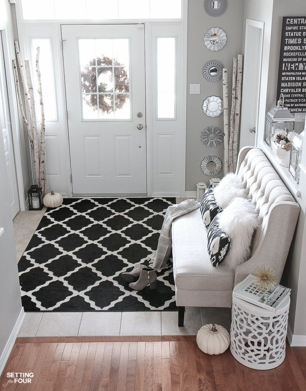 hardwood flooring stores pittsburgh of 45 awesome fall entryway decoration ideas that will make your within more interested in the basic style of foyer with the armchairs