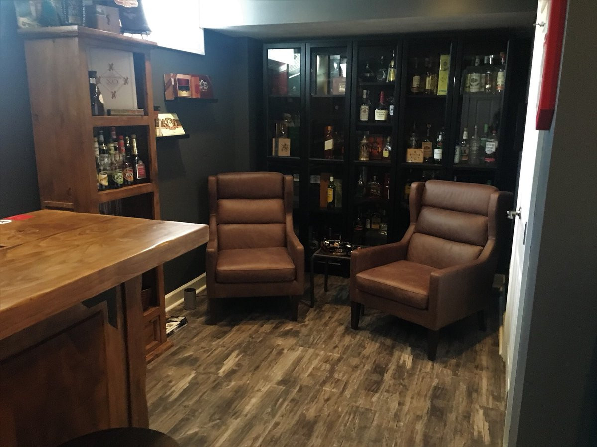 hardwood flooring stores pittsburgh of davis construct llc thetrexpro twitter regarding the best finished basement contractor in pittsburgh delivers another stunning project homedesign homedecor homebar cigars basement gameroom