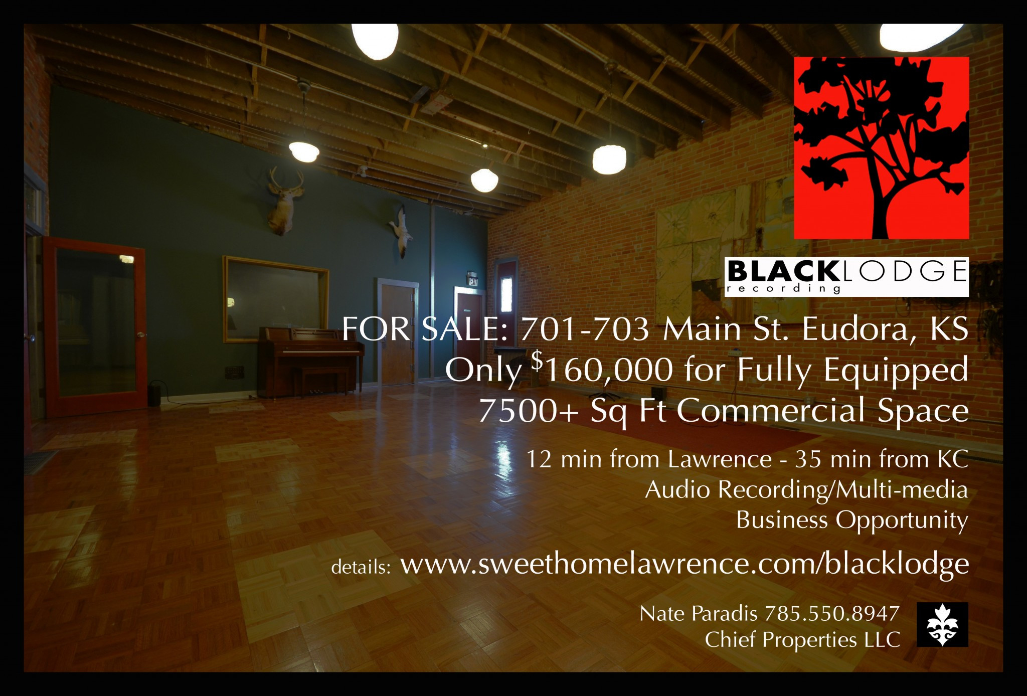 Hardwood Flooring Suppliers Kansas City Of sold Black Lodge Recording Studio • 701 703 Main St Eudora Ks with Currently Home to Renowned Black Lodge Recording Studio 701 703 Main St In Beautiful Downtown Eudora Ks Can Be Yours This Site Home Of the Historic