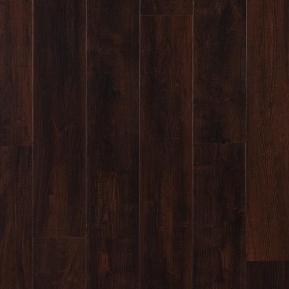 hardwood flooring with plugs of nucore dark mahogany hand scraped plank with cork back 6 5mm pertaining to nucore dark mahogany hand scraped plank with cork back 6 5mm 100376805 floor and decor