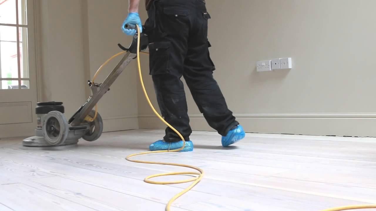 hardwood floors diy or professional of pine wood floor sanding cambridge whitewash finish youtube regarding pine wood floor sanding cambridge whitewash finish