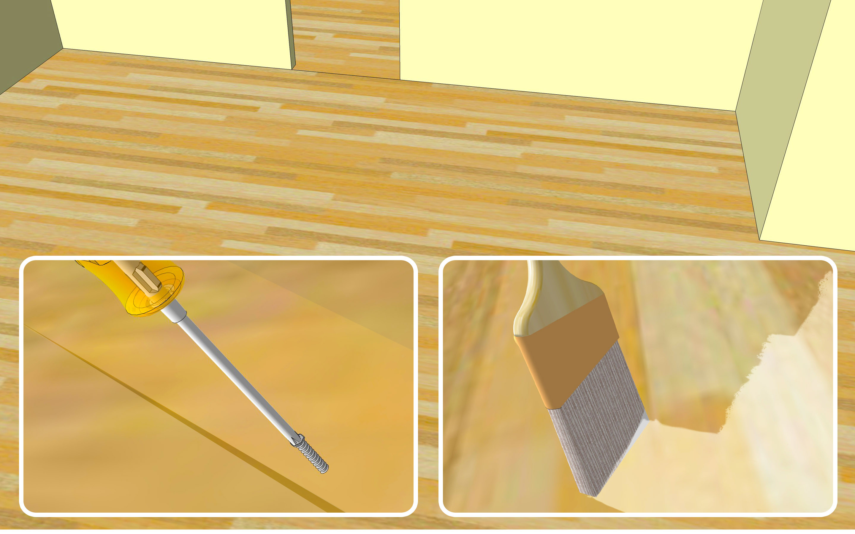 hardwood floors on slab of how to take out carpet 13 steps with pictures wikihow throughout take out carpet step 13 version 2