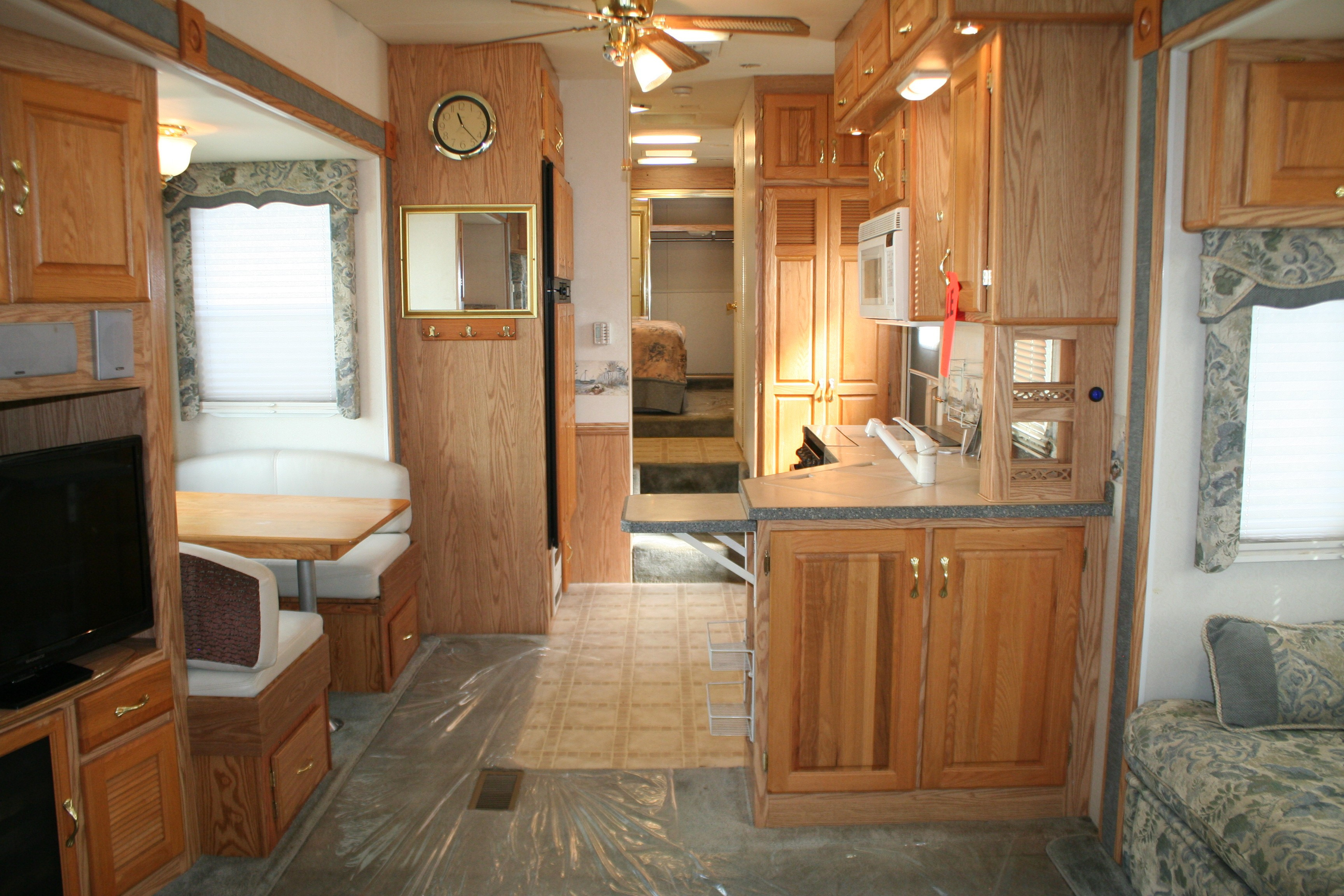 Heartland Hardwood Flooring Knoxville Of Used 2003 Holiday Rambler Presidential 34skt Fifth Wheel Rv In Intended for Click Here for Larger Image