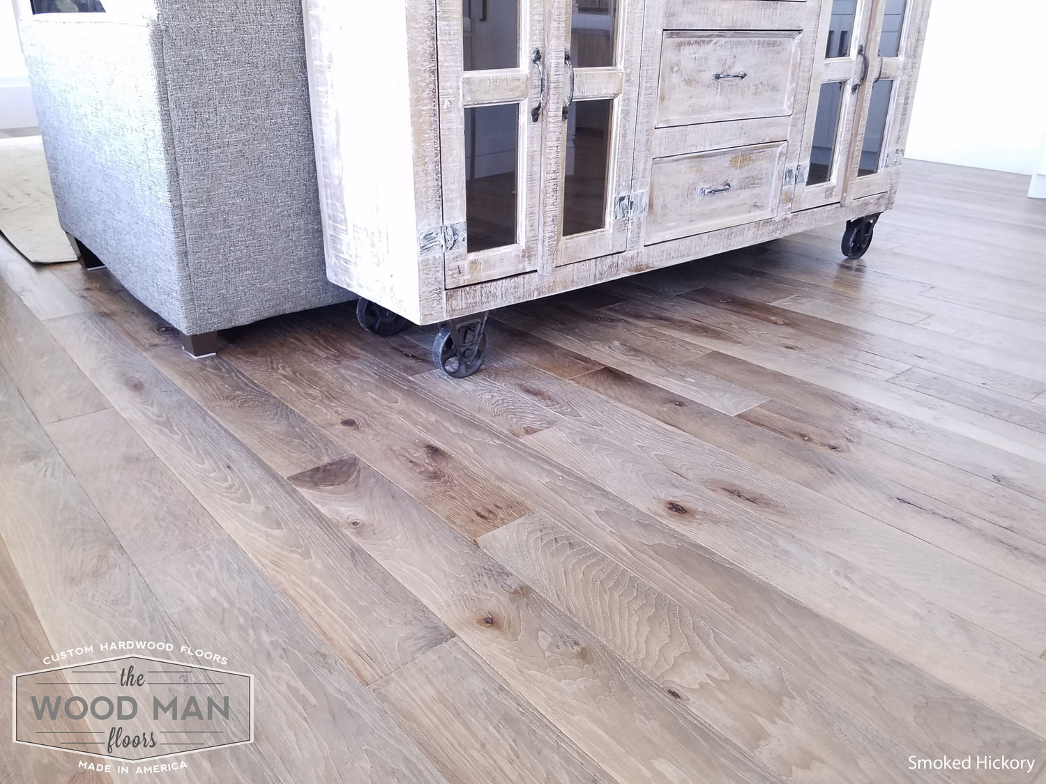 hickory fireside hardwood flooring of the wood man floors pictures the wood man floors intended for smoked hickory huish 2