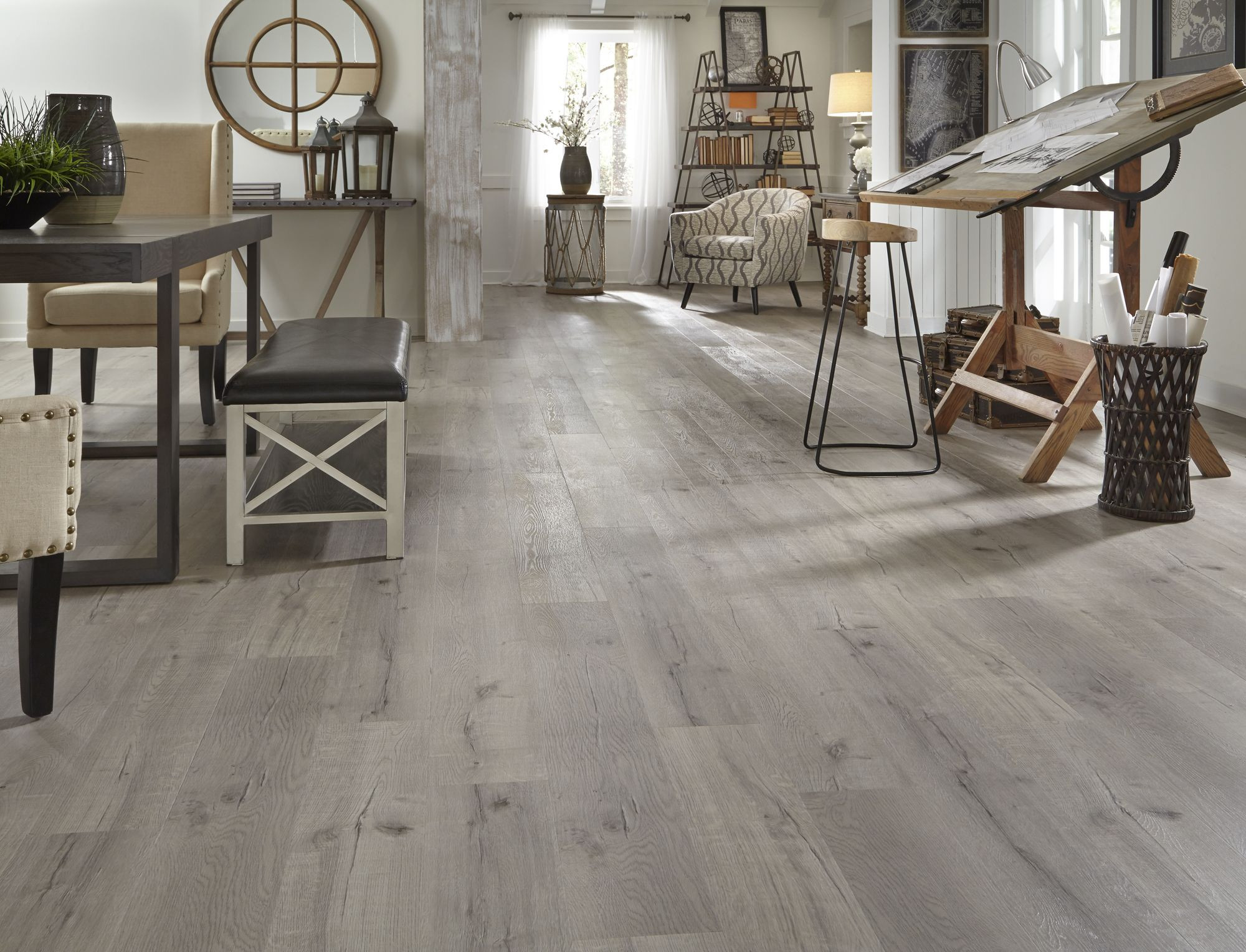 hickory saddle hardwood flooring lowes of this fall flooring season see 100 new flooring styles like driftwood inside this fall flooring season see 100 new flooring styles like driftwood hickory evp its part of a new line of waterproof flooring thats ideal for any space