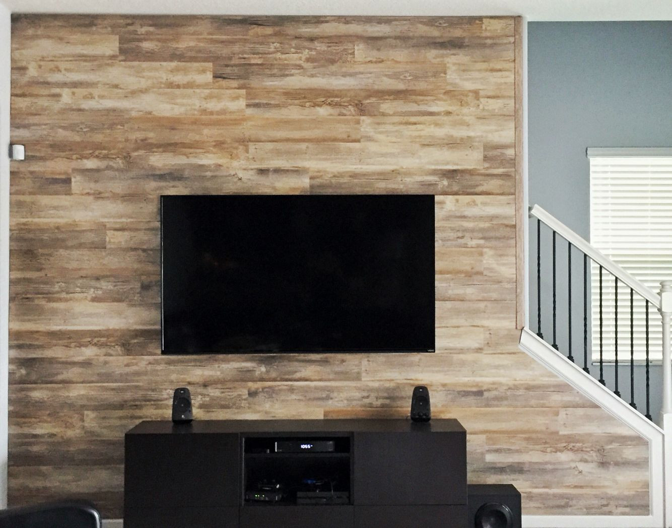 Higgins Hardwood Flooring Reviews Of Wood Wall We Installed In Our Home This is Wood Laminate Flooring with Regard to Wood Wall We Installed In Our Home This is Wood Laminate Flooring We Moved