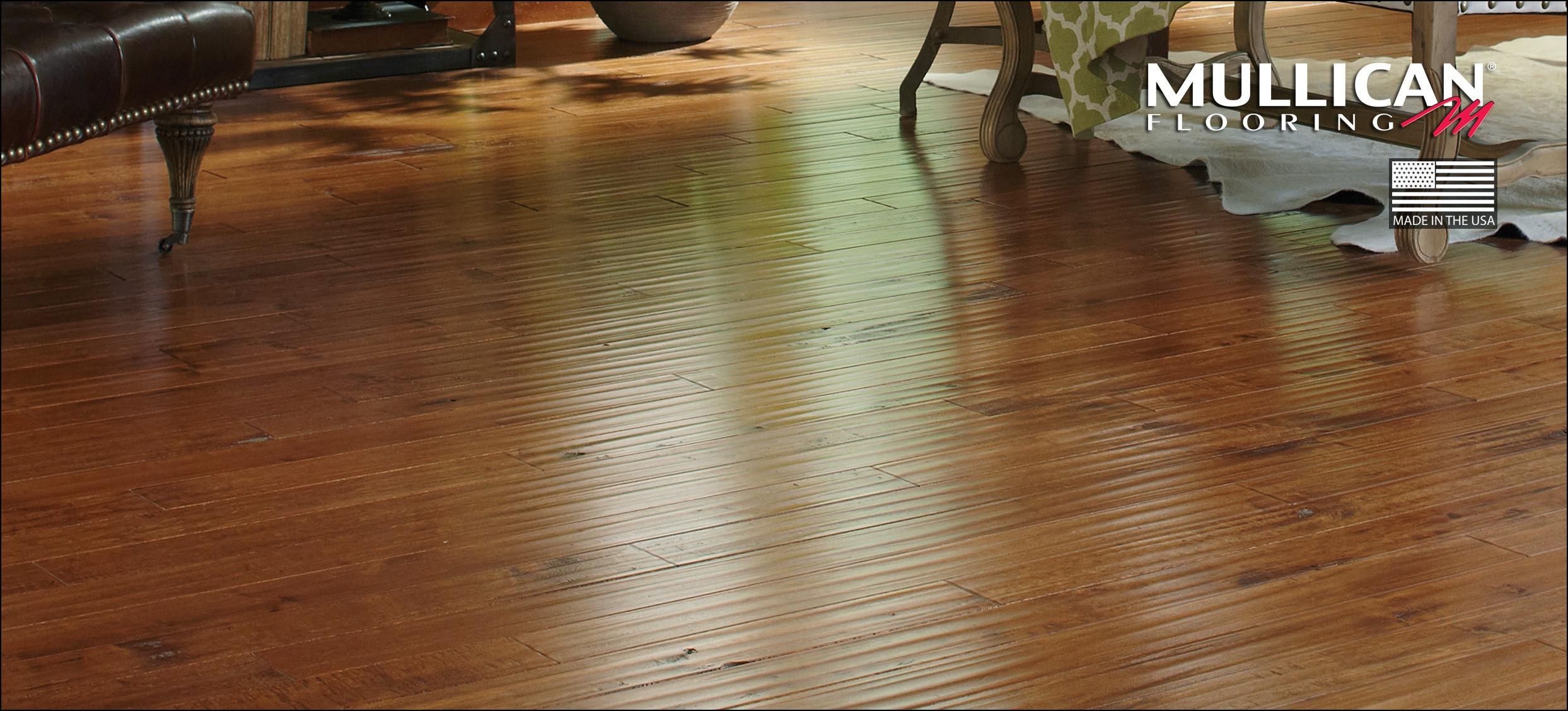 Honey Bamboo Solid Hardwood Flooring