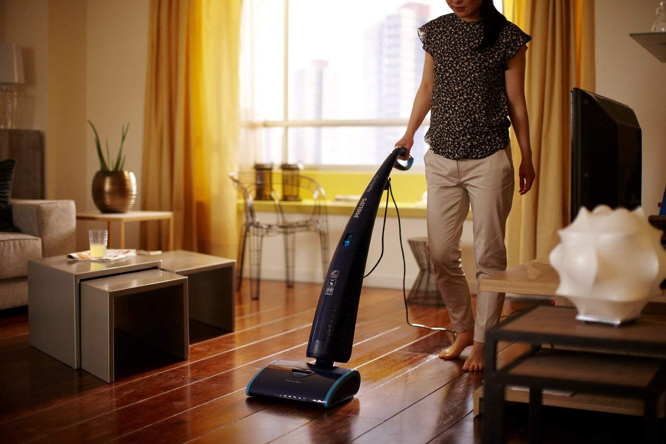 hoover hardwood floor cleaner of philips aquatrio pro fc7080 01 hard floor cleaner with triple for philips aquatrio pro fc7080 01 hard floor cleaner with triple acceleration technology blue amazon co uk kitchen home