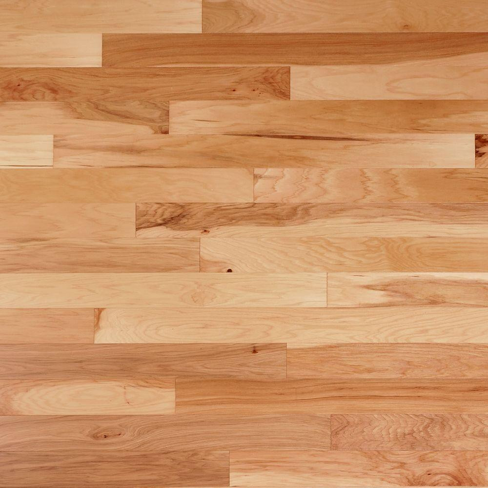 Hosking Hardwood Flooring Reviews Of Engineered Hardwood Hardwood Flooring the Home Depot with Regard to Vintage Hickory Natural 3 8 In Thick X 4 3 4 In