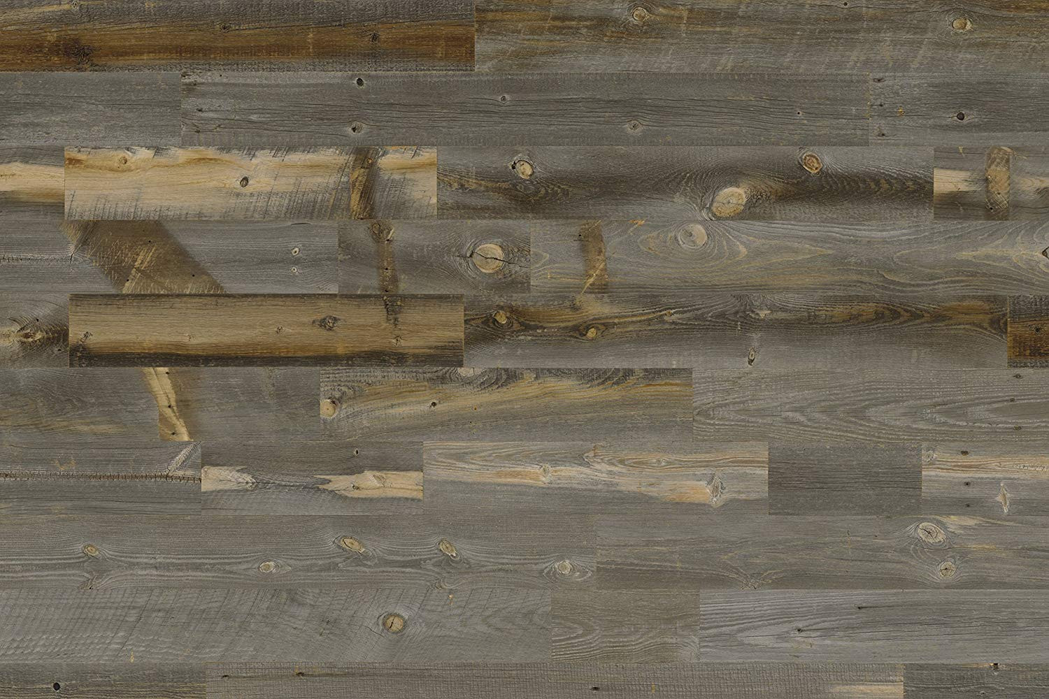 How Much Does It Cost for Hardwood Floors 1500 Sf Of Amazon Com Stikwood Reclaimed Weathered Wood Silver Gray Brown 20 with Regard to Amazon Com Stikwood Reclaimed Weathered Wood Silver Gray Brown 20 Square Feet Easy Peel and Stick Application Baby