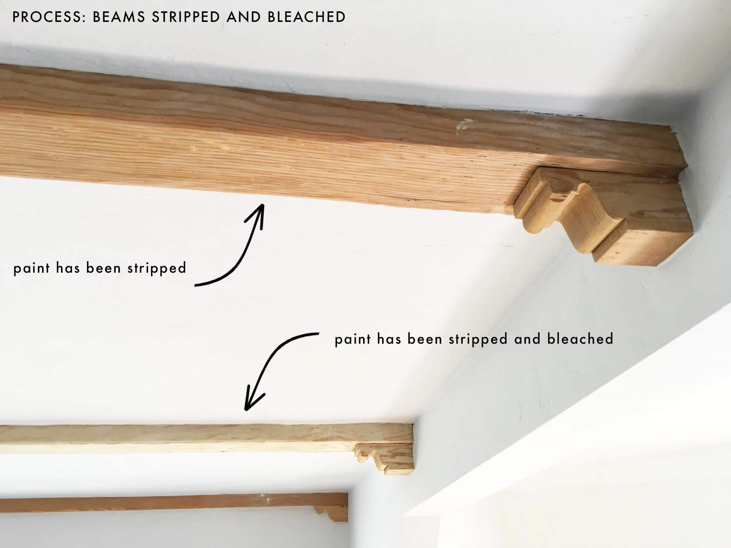 how much should it cost to refinish hardwood floors of how we refinished our wood beams emily henderson for emily henderson living room wood naturally refinishing beams process new 1