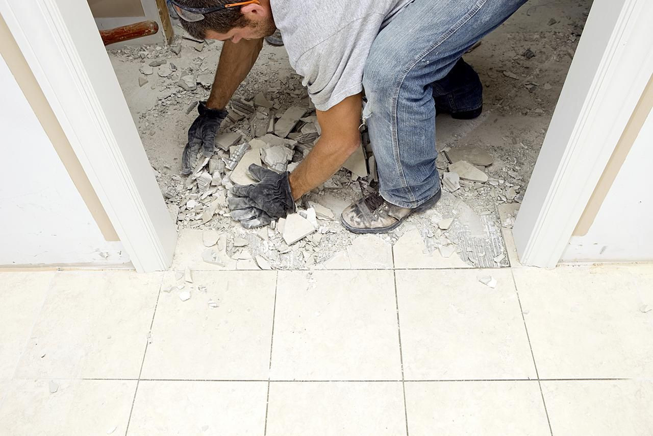 how to bid a hardwood floor job of how to remove marble flooring tiles throughout removing marble floor 184849639 resized 56a2fd8d3df78cf7727b6d27