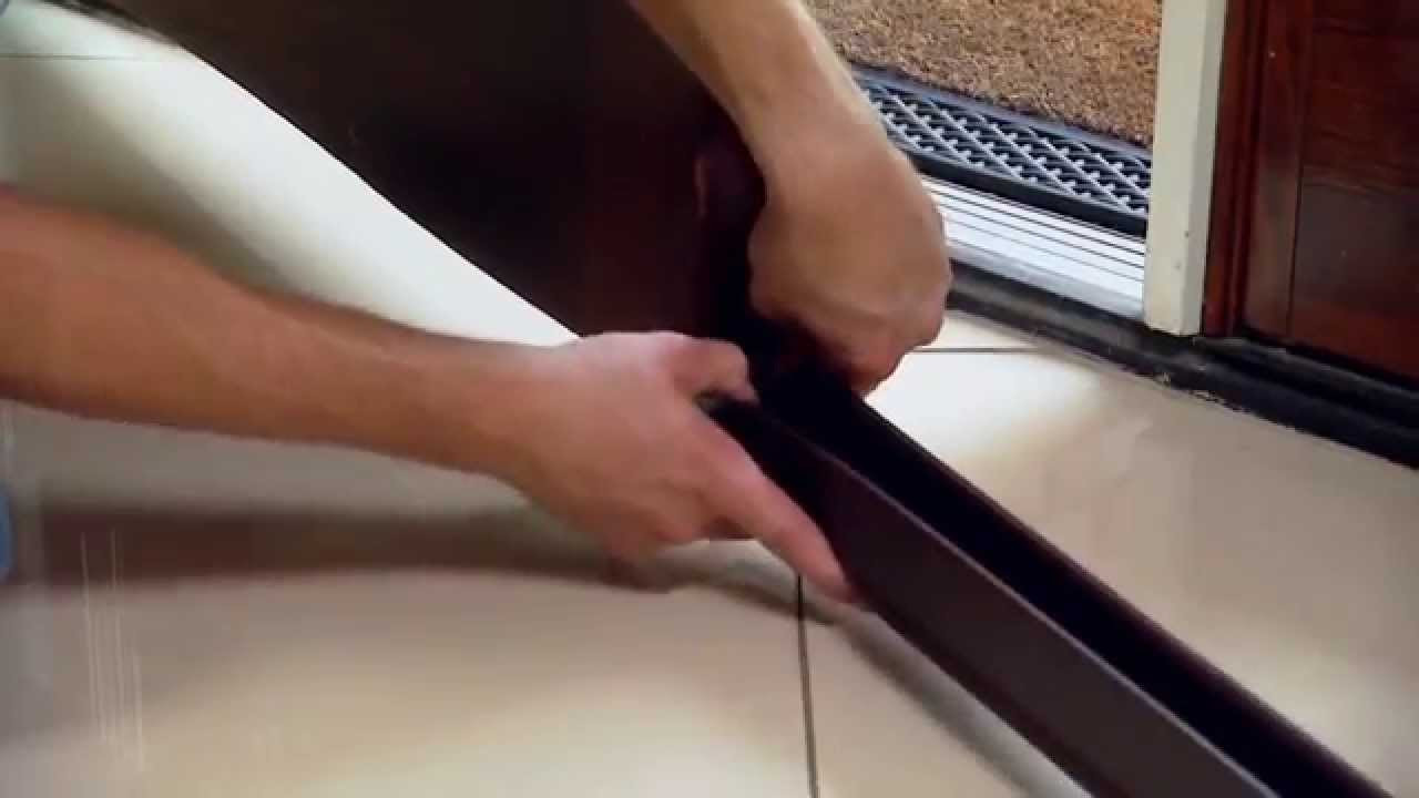 how to close gaps in hardwood floors of seal the gap on the bottom on entry door youtube for seal the gap on the bottom on entry door