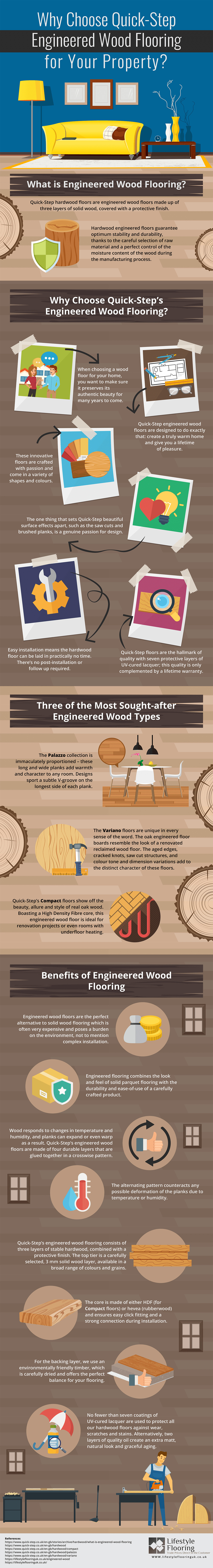 how to install engineered hardwood flooring on stairs of why choose quick step engineered wood flooring csw pertaining to if youre looking to find out more information this infographic below from lifestyle flooring takes a look at the advantages of quick step engineered wood