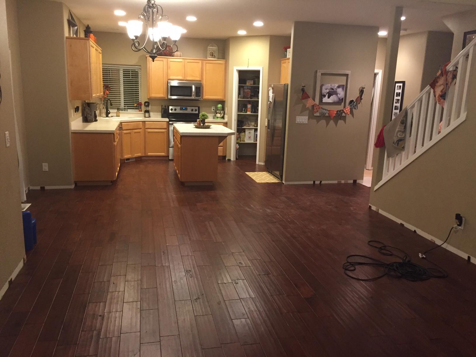 Stylish How Install Floating Hardwood Floors Concrete Unique Flooring Ideas