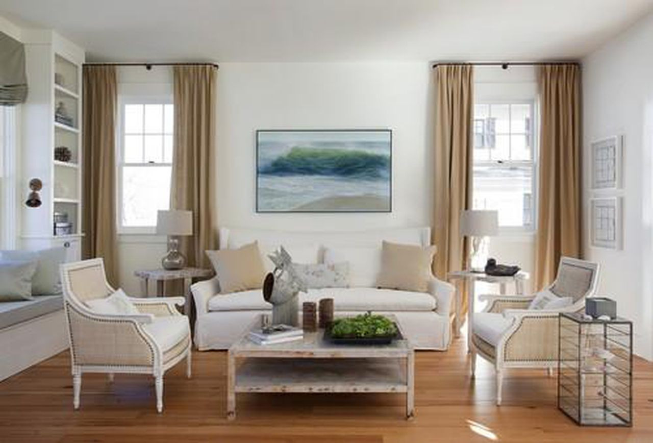 How to Install Hardwood Flooring On Walls Of What to Know before Refinishing Your Floors with Https Blogs Images forbes Com Houzz Files 2014 04 Beach Style Living Room