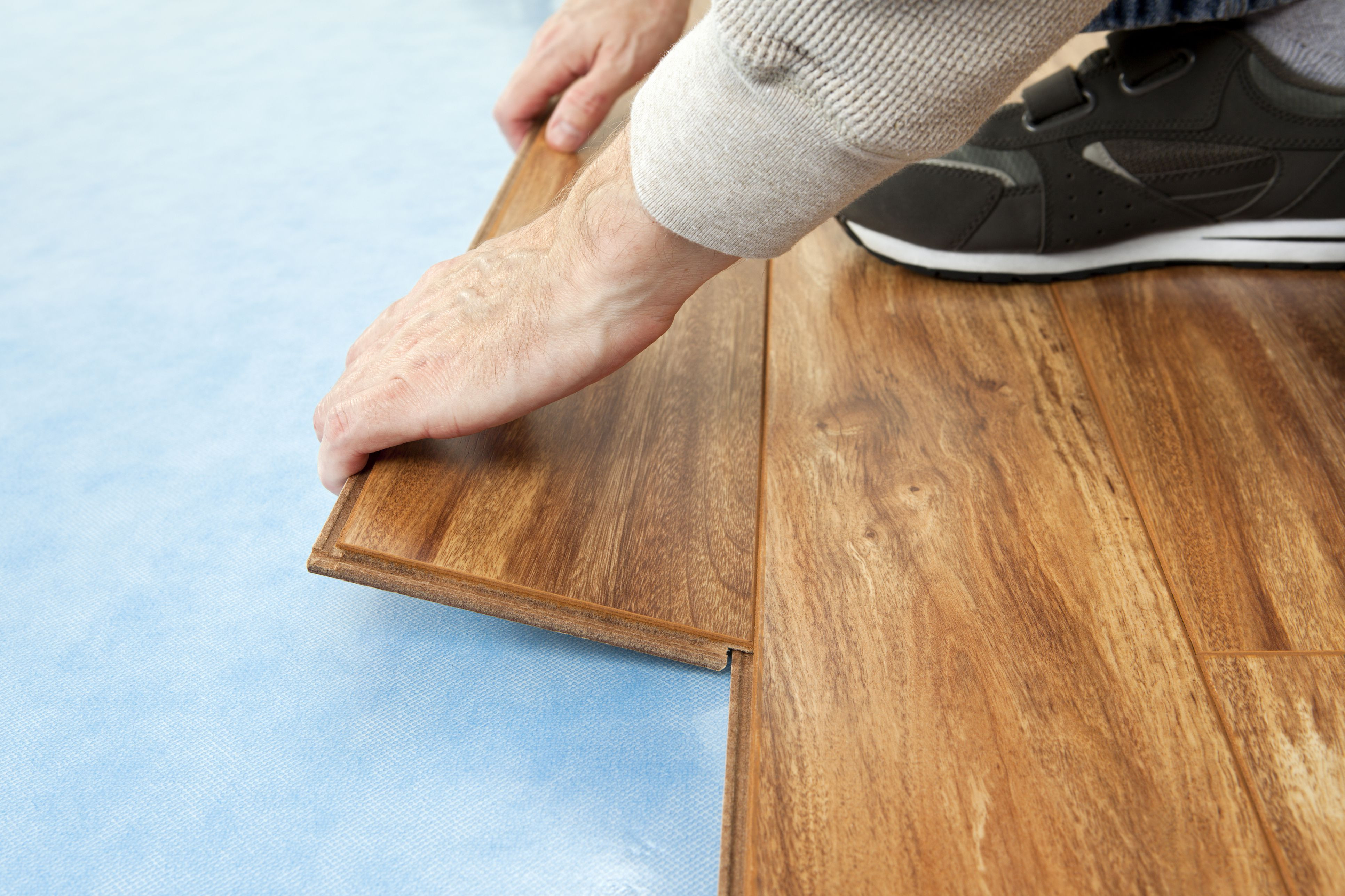 how to install hardwood flooring under toe kick of floor sound barriers that dampen noise between floors with regard to installing new floor 155283804 582b79a25f9b58d5b17e597f