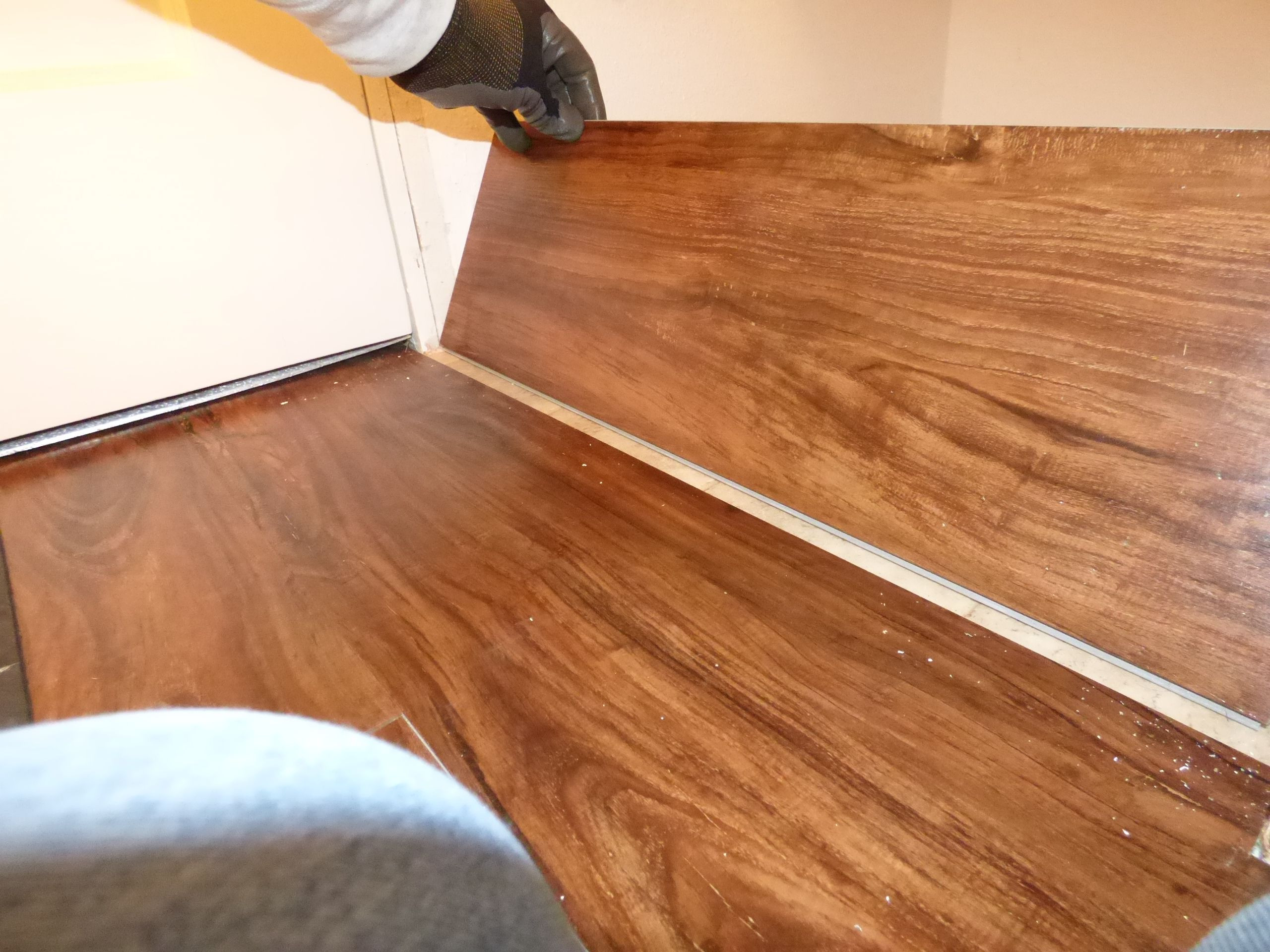 how to install hardwood flooring under toe kick of its easy and fast to install plank vinyl flooring pertaining to backwards installing plank flooring 56a4a0535f9b58b7d0d7e38e jpg