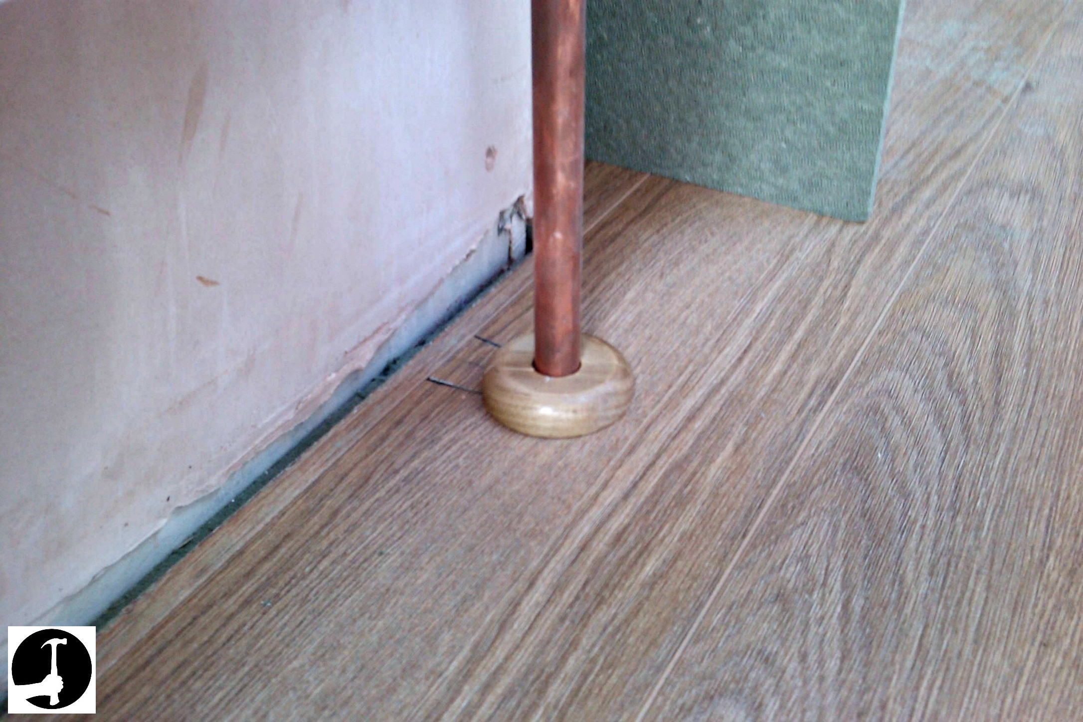 How to Install Hardwood Floors On Second Floor Of How to Install Laminate Flooring with Ease Glued Glue Less Systems with How to Cut Laminate Around Pipes