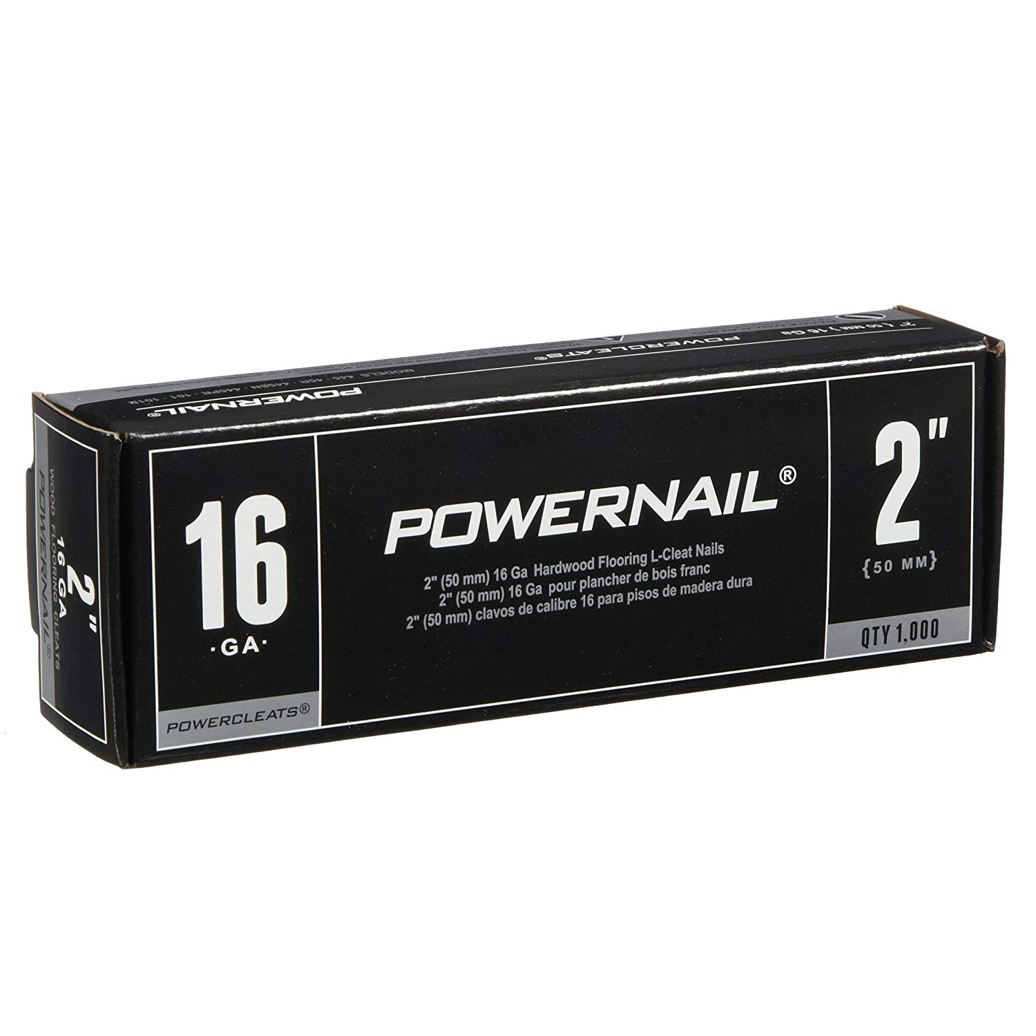 how to install hardwood floors without nailer of amazon com powernail powercleat 16ga 2 l cleat box of 5000 home inside amazon com powernail powercleat 16ga 2 l cleat box of 5000 home improvement