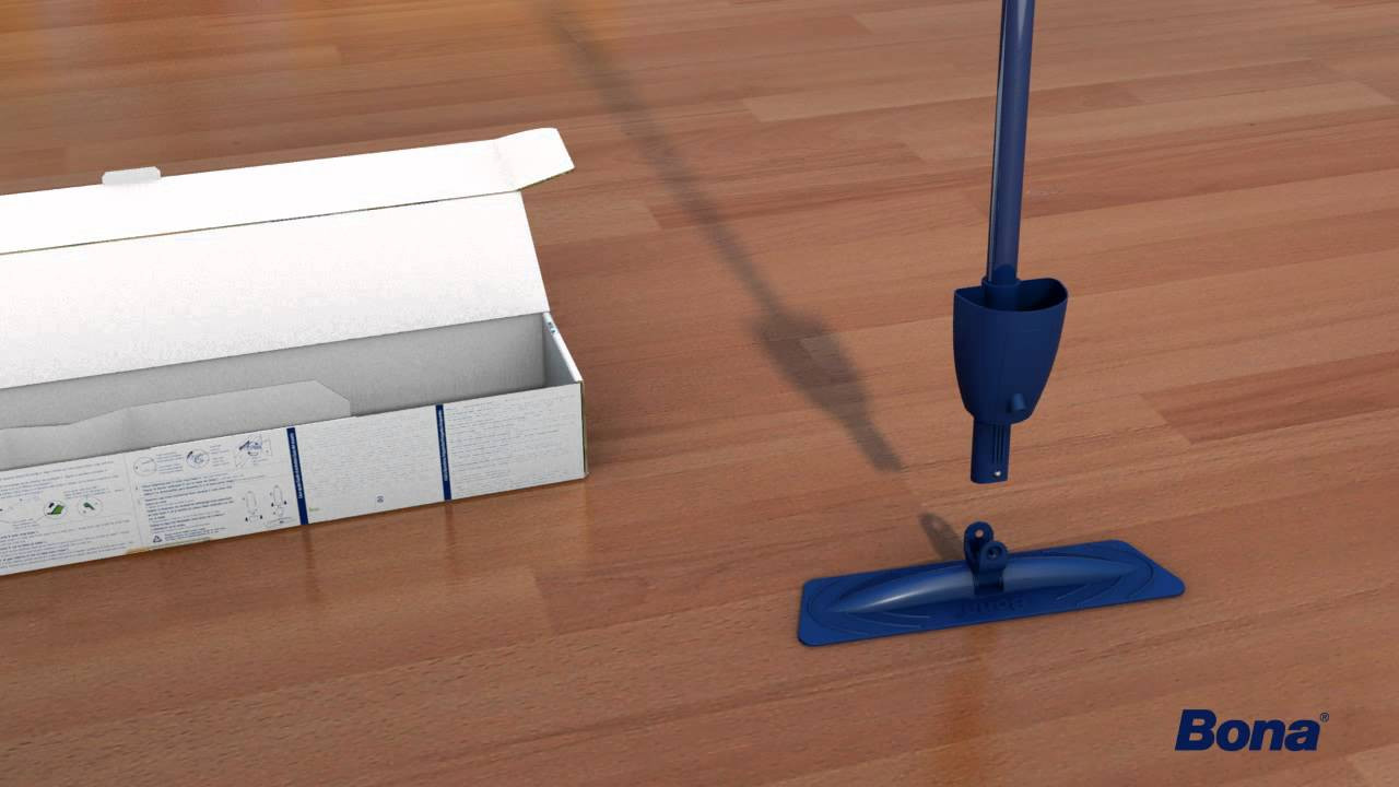 how to keep hardwood floors clean of how to assemble and use your bona spray mop youtube in maxresdefault