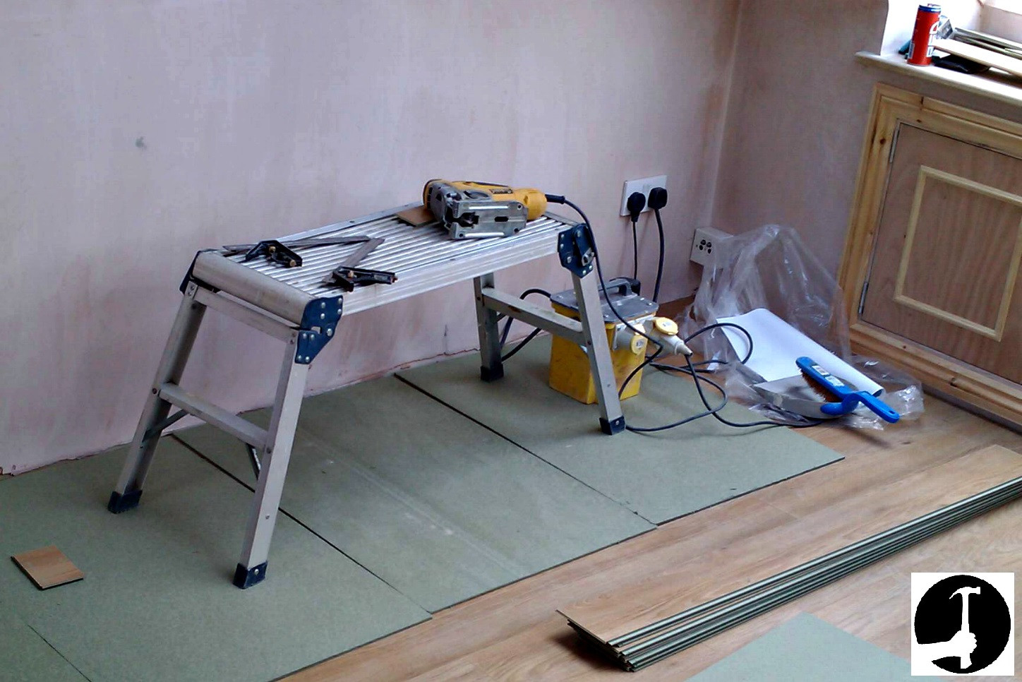 how to lay floating hardwood floor on concrete of how to install laminate flooring with ease glued glue less systems with laminate flooring tools