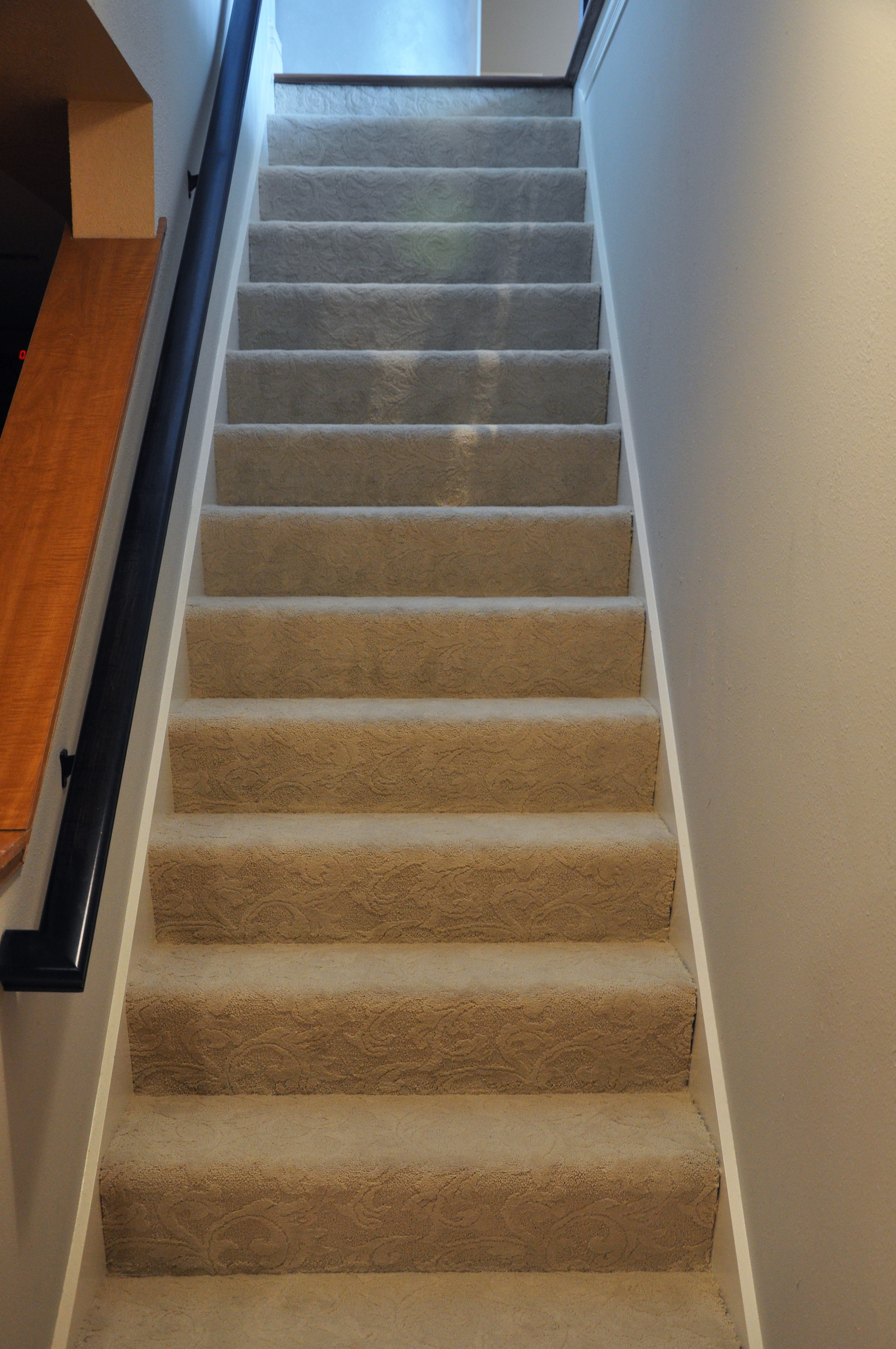 how to lay hardwood floor on stairs of hardwood stair treads staircasing installation milwaukee wi throughout click image to enlarge