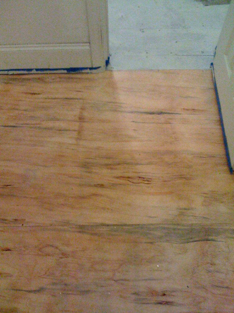 how to lay hardwood flooring on plywood of diy plywood floors 9 steps with pictures for picture of install the plywood floor