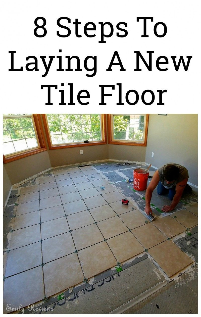 how to lay hardwood tile flooring of diy 8 steps to laying a new tile floor have fun and diy do it regarding laying your own tile floor isnt as difficult as you may think 8