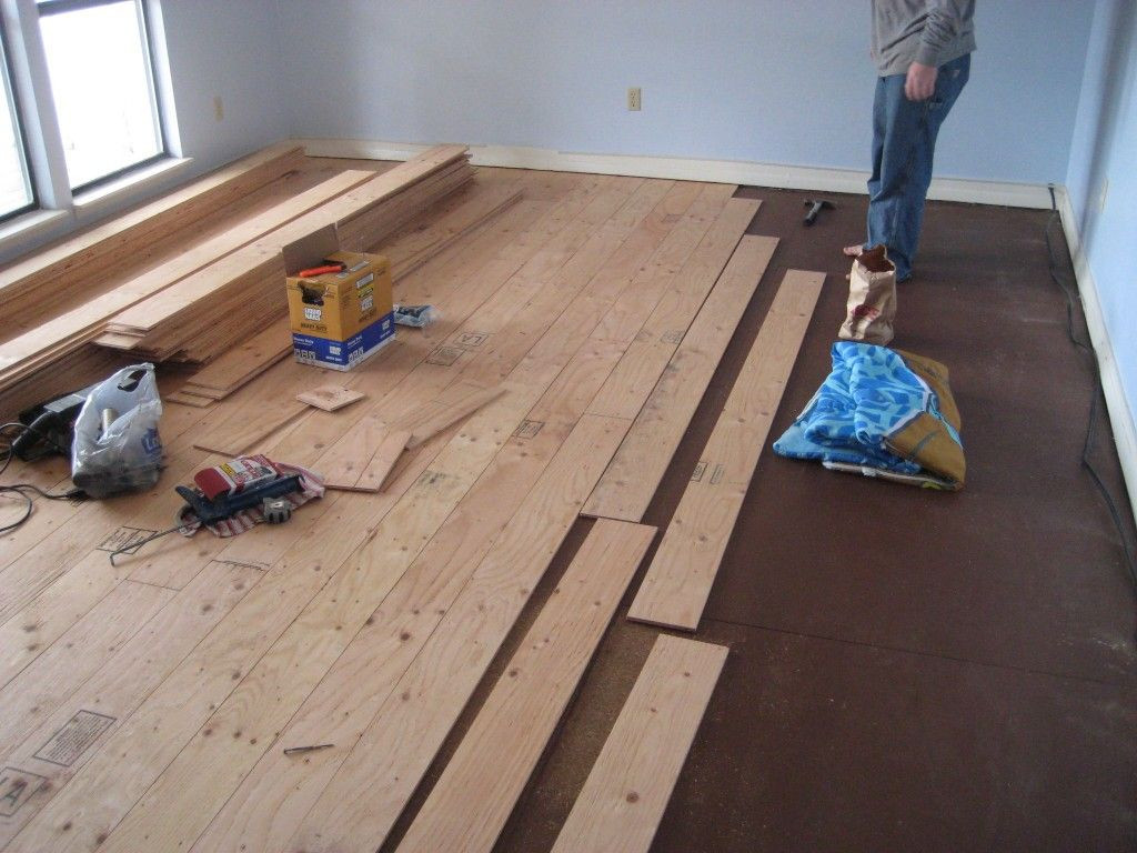 How to Make Hardwood Floor Cleaner Of Real Wood Floors Made From Plywood for the Home Pinterest with Real Wood Floors for Less Than Half the Cost Of Buying the Floating Floors Little More Work but Think Of the Savings Less Than 500