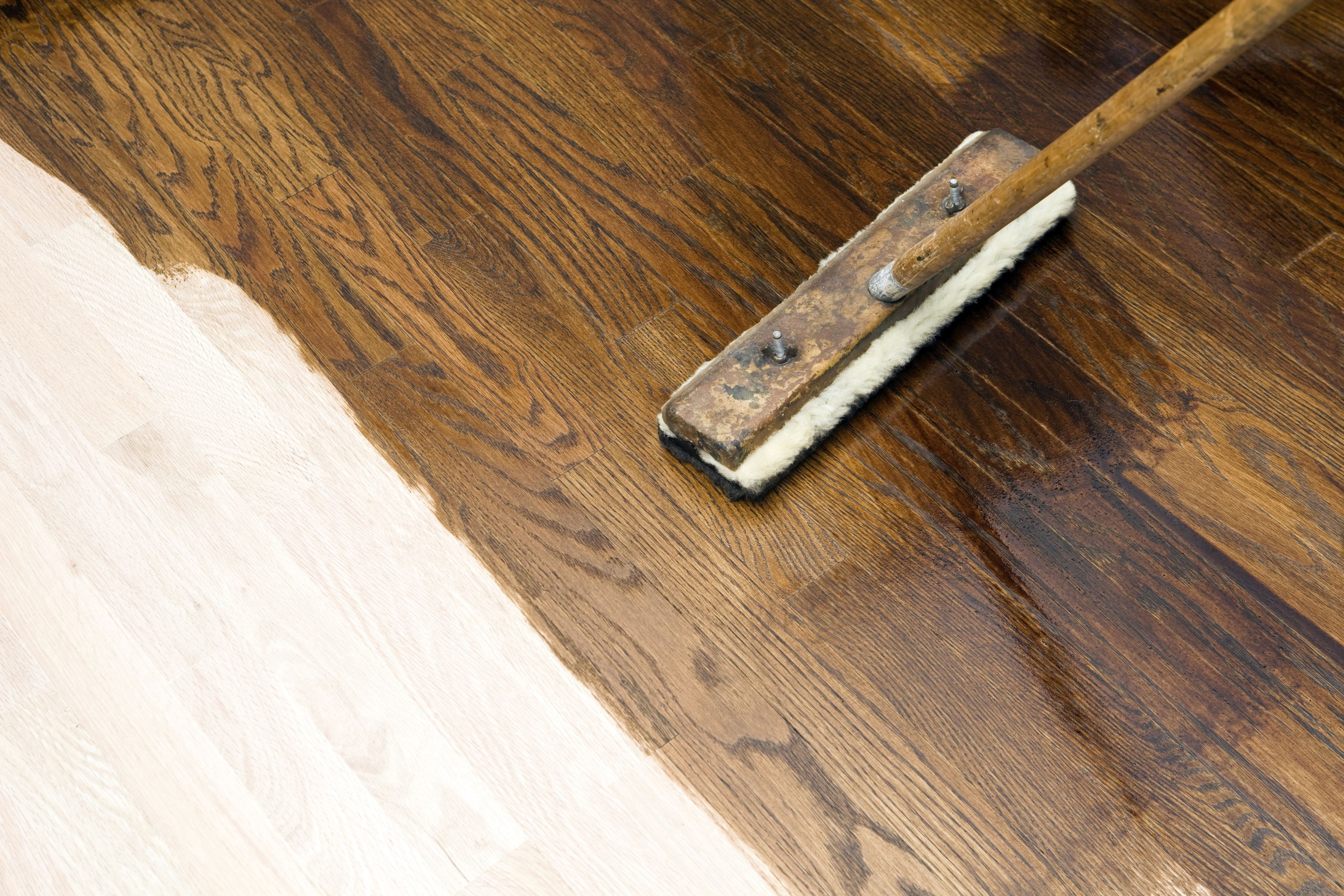 how to protect newly refinished hardwood floors of how to build equity what it means to own more of your home in dark stain application on new oak hardwood floor 184881406 573e139f5f9b58723d7a472d