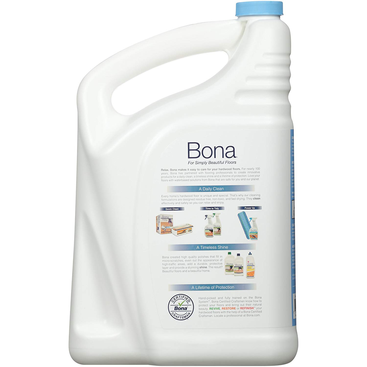 how to refill bona hardwood floor cleaner of amazon com bona wm700018182 free simple hardwood floor cleaner in amazon com bona wm700018182 free simple hardwood floor cleaner refill 128 oz health personal care