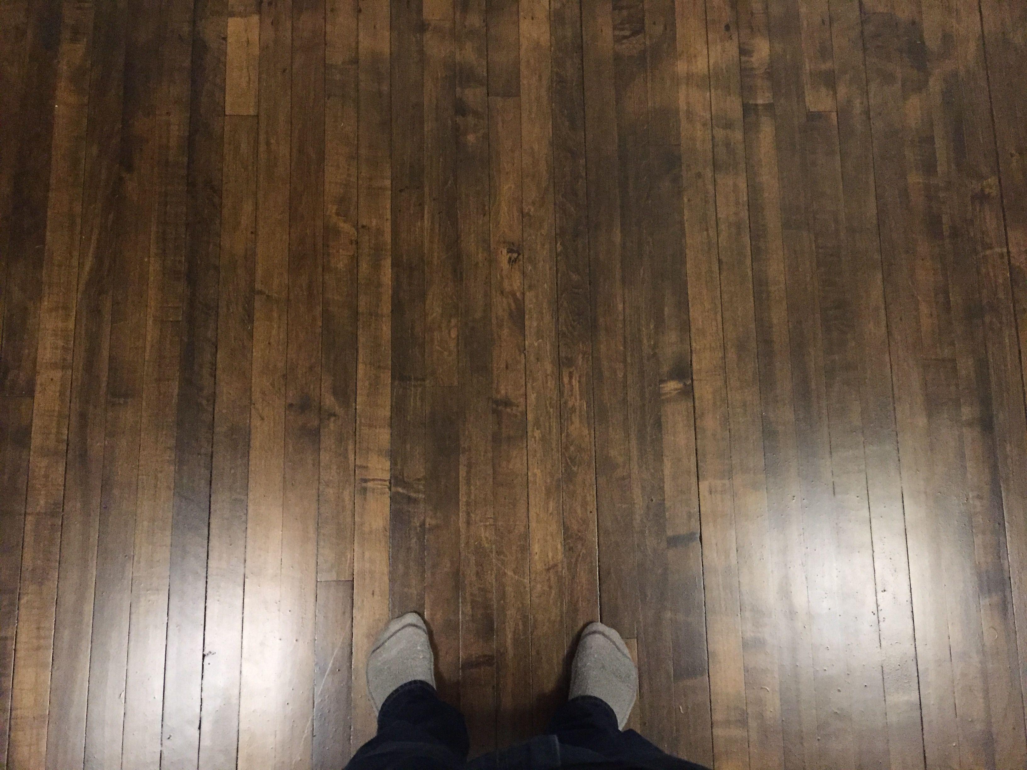 how to refinish hardwood floors youtube of how i stained my maple floors dark spoiler gel stain regarding 1540f28a28b06da1022cc61b0d2bda4d