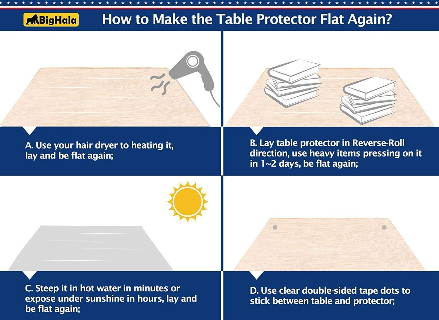 how to reverse hardwood floor direction of amazon com table protector clear vinyl plastic tablecloth rectangle inside amazon com table protector clear vinyl plastic tablecloth rectangle wood furniture stain protector water resistant wipeable cover glass top coffee end