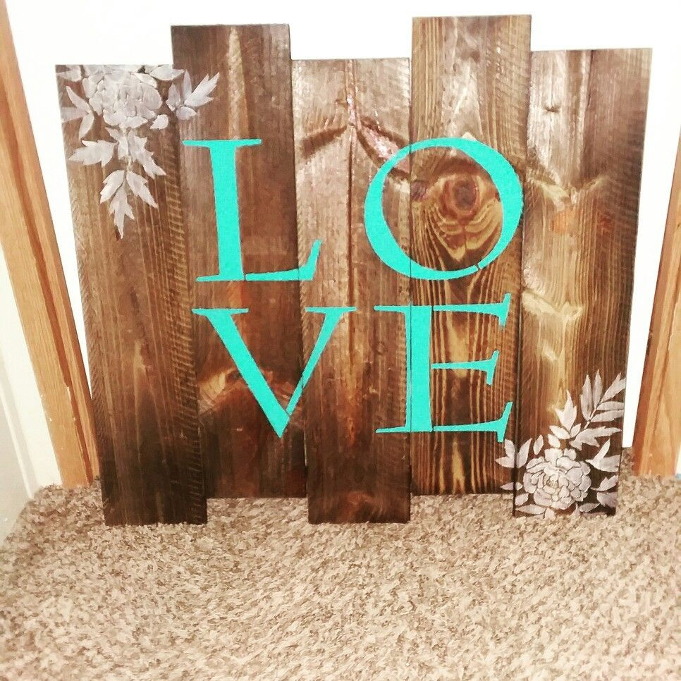 how to use a hardwood floor edger of love pallet sign using cutting edge stencils diy pinterest intended for love pallet sign using cutting edge stencils