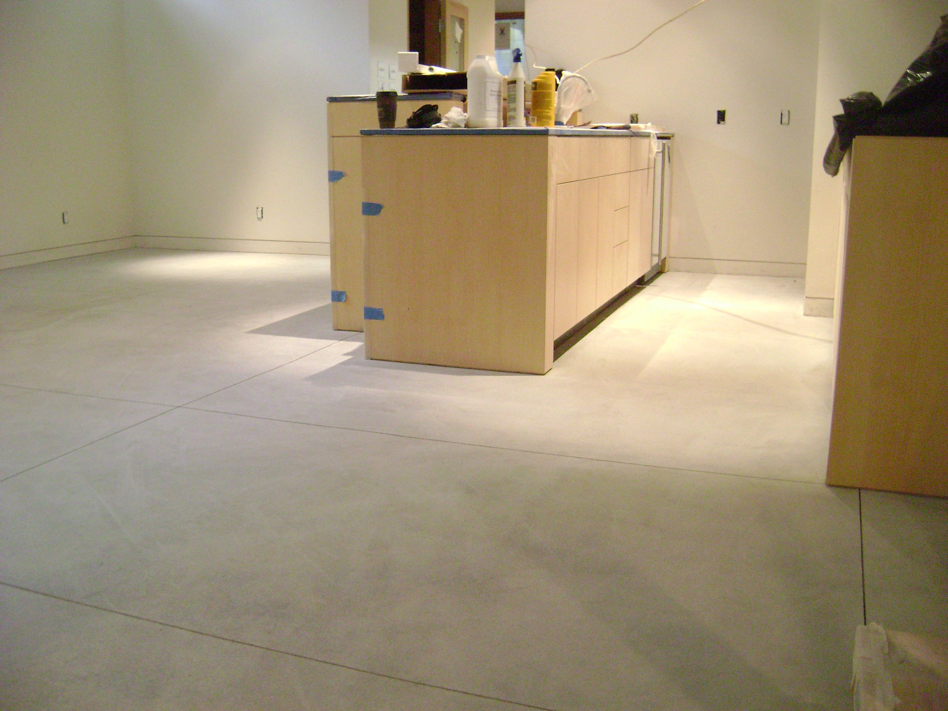 install hardwood floor on concrete basement of new home construction 150 grit polished concrete flooring pertaining to new home construction 150 grit polished concrete flooring installation in basement by www concreteperfection net