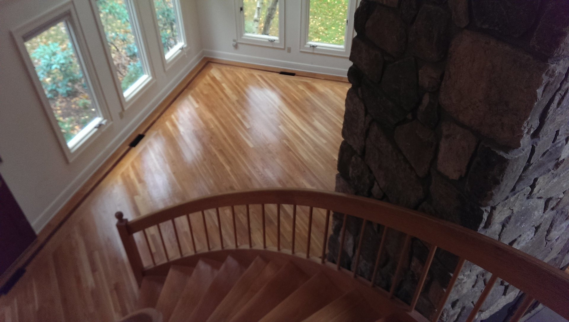 install hardwood flooring around banister of american floor service staircase gallery fairfield ct with regard to check out our wood staircase projects