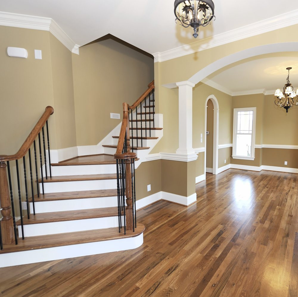 Install Hardwood Flooring Around Banister Of Buff and Coat Flooring Plainfield Il Phone Number Yelp with Regard to O