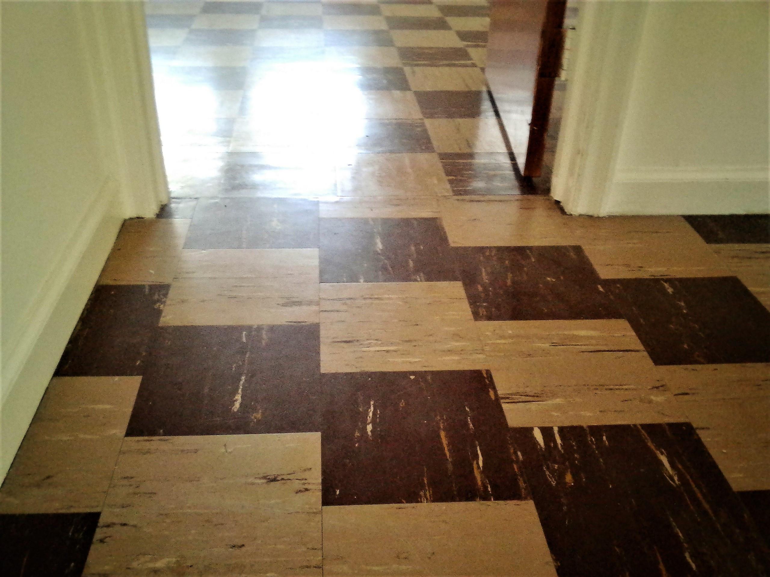 installing glue down hardwood floors on concrete of asbestos flooring do you really need that abatement the flooring blog throughout old vinyl asbestos tile flooring