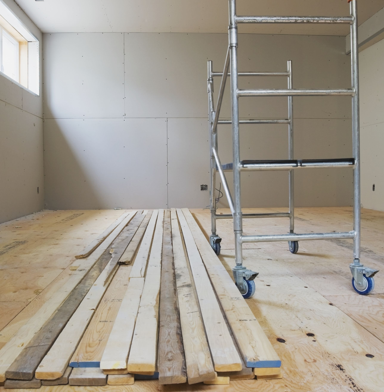 installing hardwood floors on concrete subfloor of basement subfloor options for dry warm floors for unfinishedbasementwithsubflooring 187140679 56a66f0c5f9b58b7d0e26895