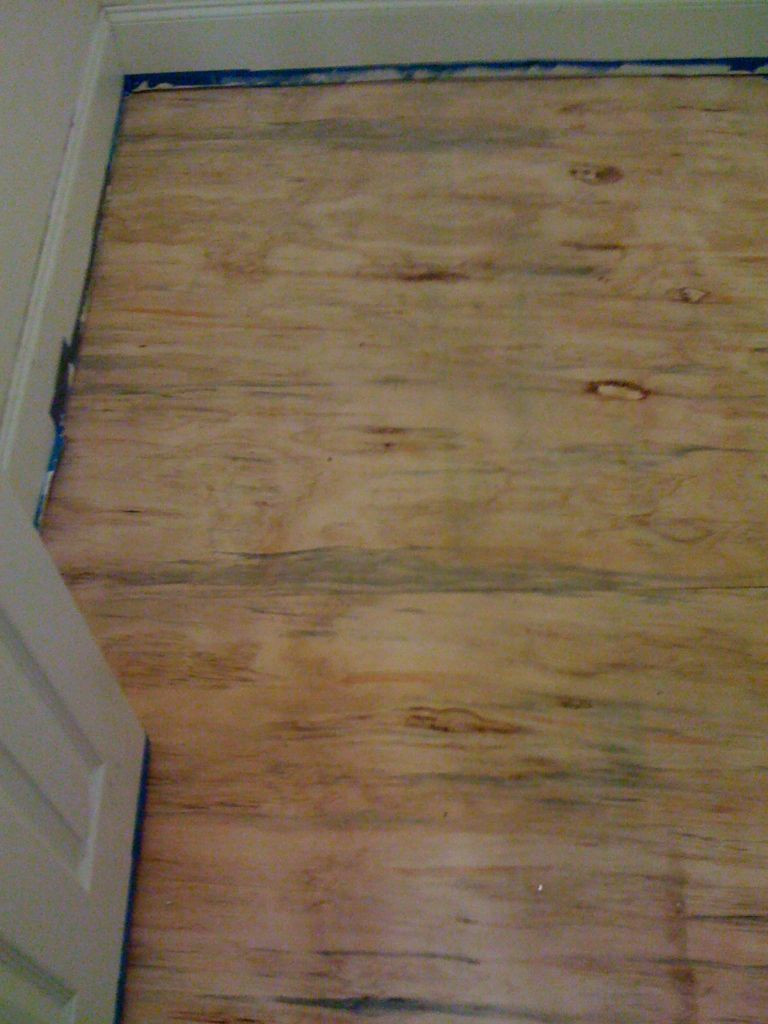 installing hardwood floors over concrete slab of diy plywood floors 9 steps with pictures in picture of install the plywood floor