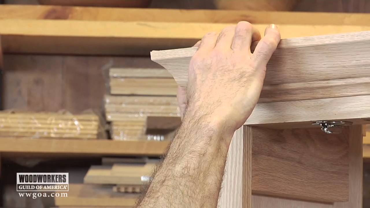 installing hardwood floors yourself video of woodworking diy project installing crown molding on a cabinet regarding woodworking diy project installing crown molding on a cabinet