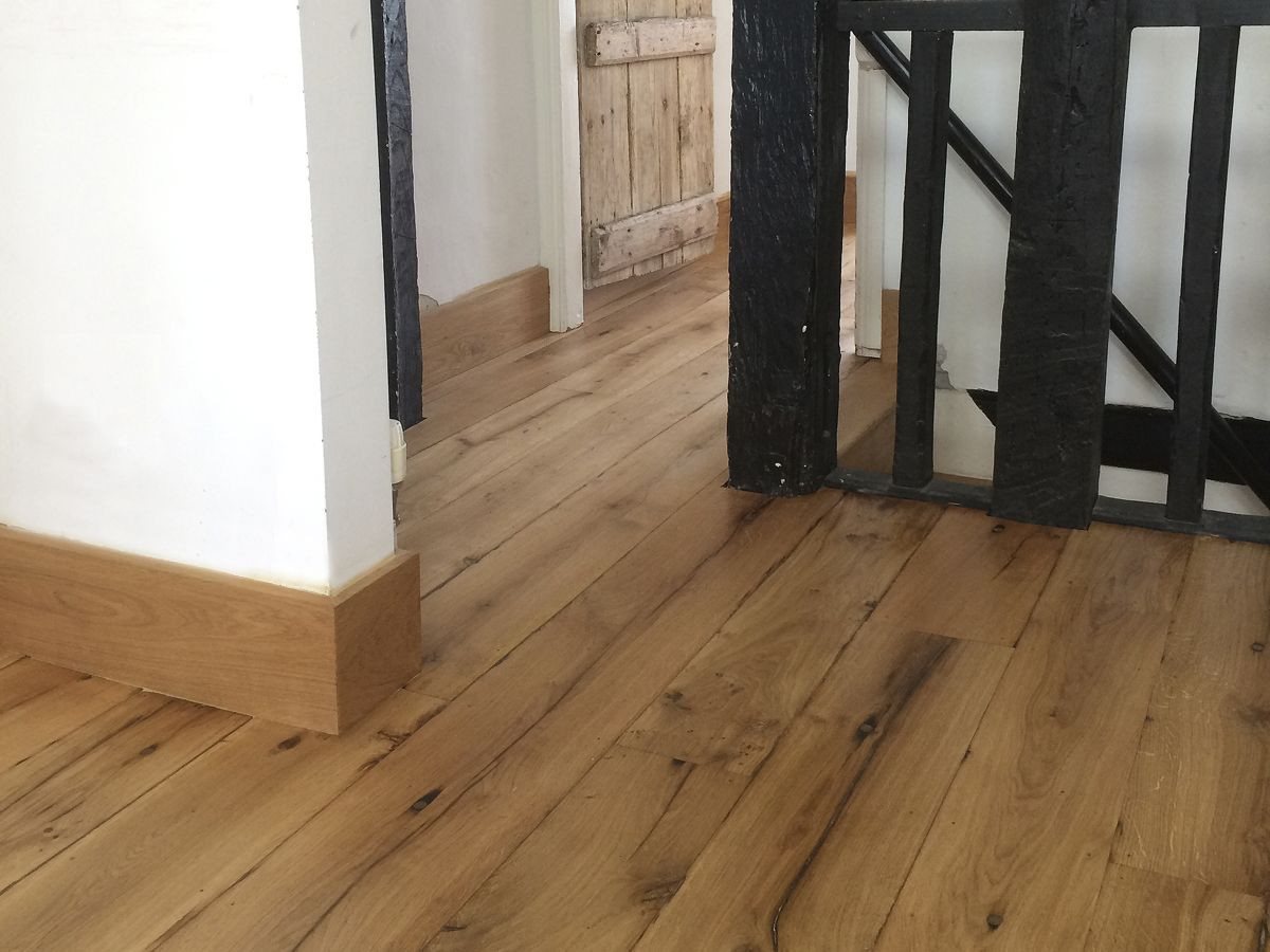 Jb Hardwood Floors Of Reclaimed Oak Floorboards Finished In Natural Hard Wax Oil Diy In Reclaimed Oak Floorboards Finished In Natural Hard Wax Oil