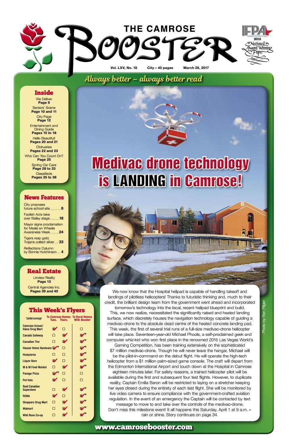 Jd Hardwood Flooring Of March 28 2017 Camrose Booster by the Camrose Booster issuu Pertaining to Page 1