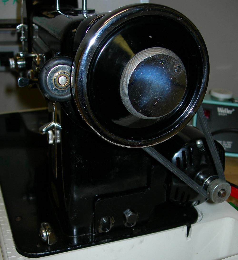 john's hardwood floors sacramento ca of speed reduction for a belt drive sewing machine inside a
