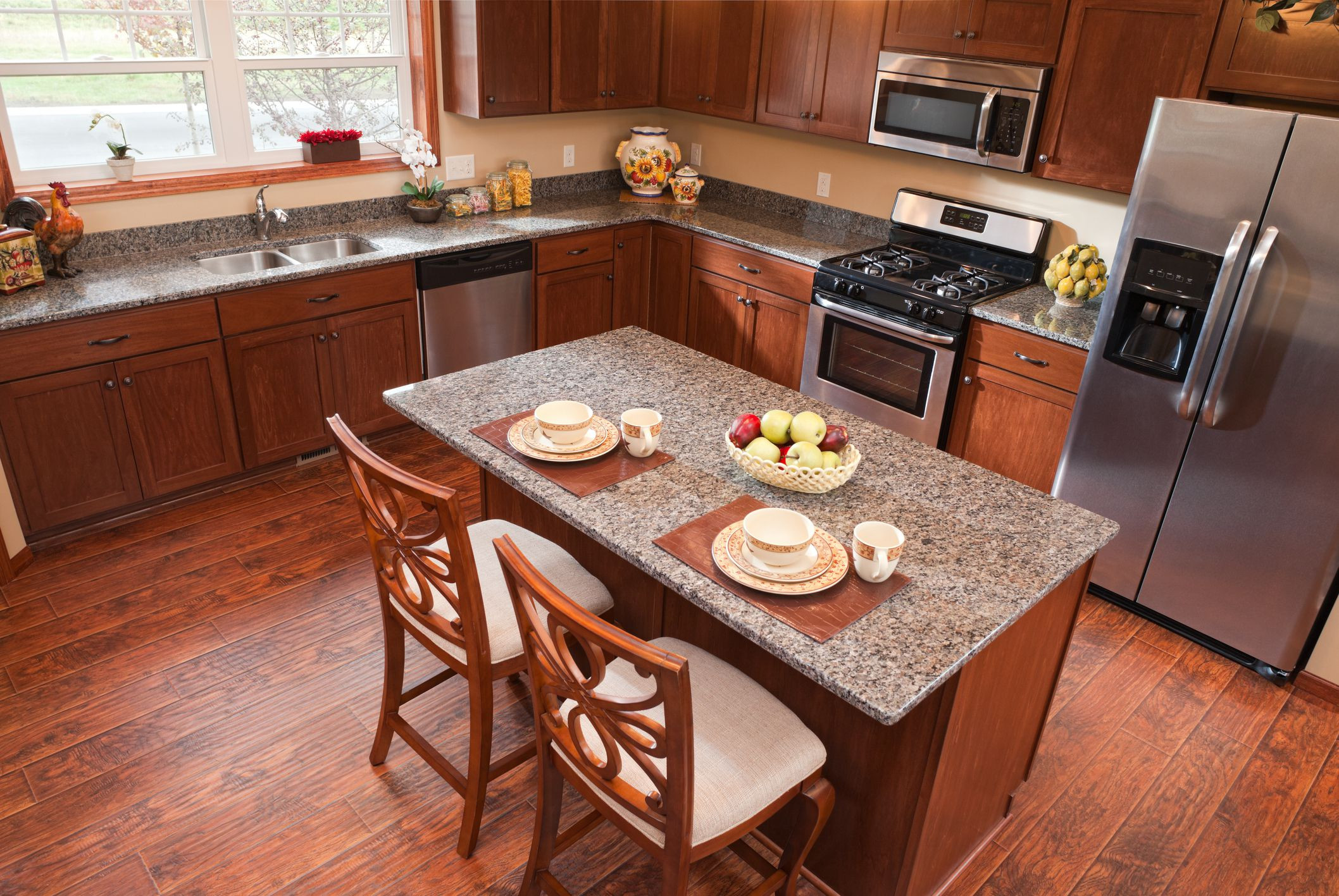 Kitchen Hardwood Floor Ideas Of Can You Install Laminate Flooring In the Kitchen Pertaining to Kitchen Laminate Floor Gettyimages 155098316 5895140c5f9b5874ee5f7711