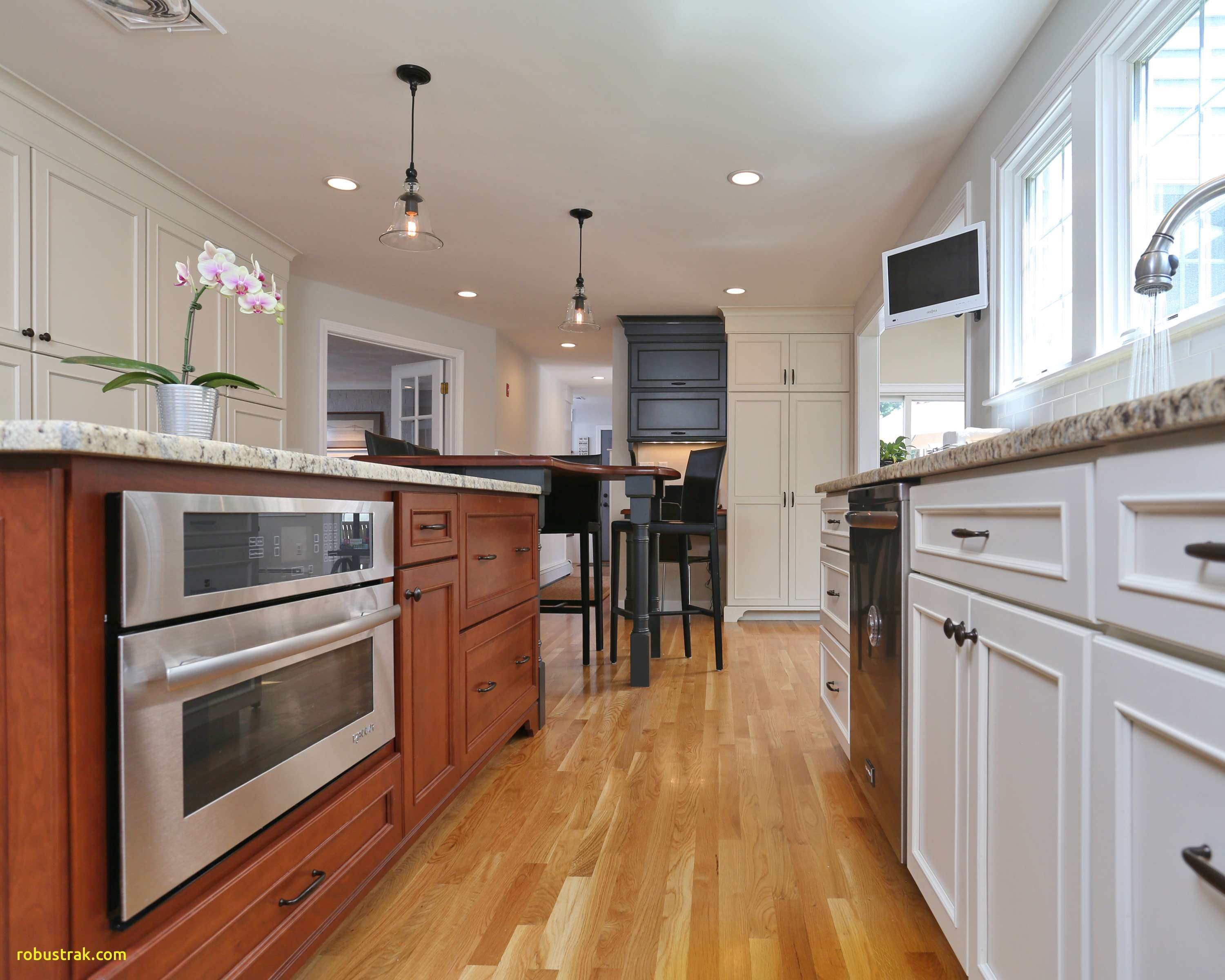 15 attractive Kitchen Ideas with Dark Hardwood Floors