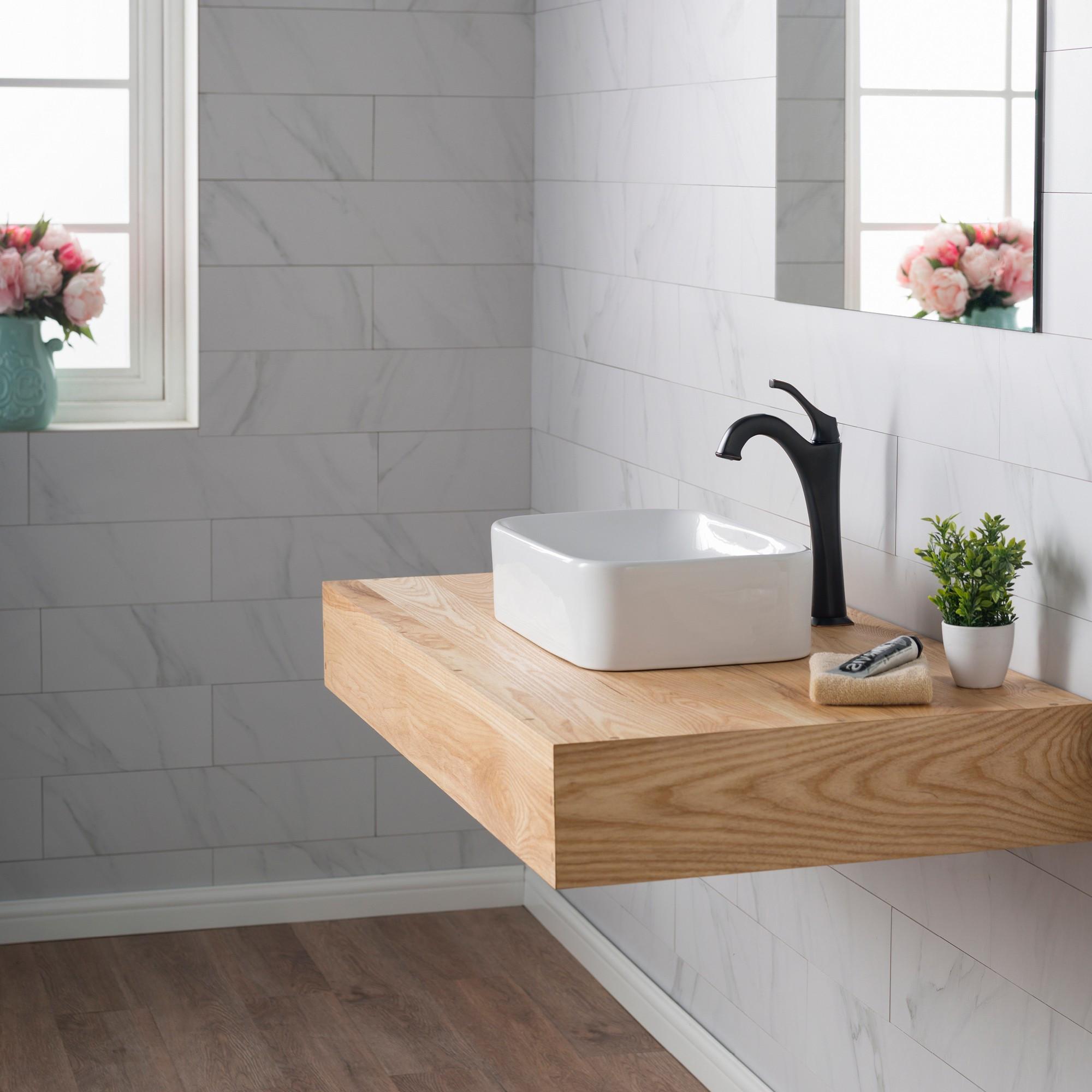 kraus hardwood flooring reviews of ceramic sink kraususa com in kraus elavo rectangular vessel white porcelain ceramic bathroom sink 19 inch