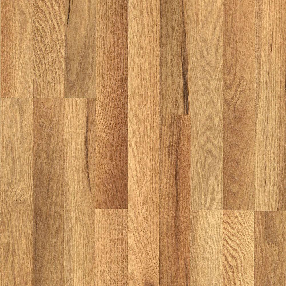 Laminate Flooring or Hardwood Flooring Of Light Laminate Wood Flooring Laminate Flooring the Home Depot Intended for Xp Haley Oak 8 Mm Thick X 7 1 2 In Wide X